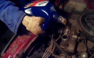 Замена масла в двигателе ваз 21099 инжектор