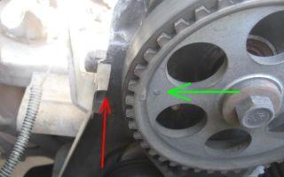 Замена грм калина 8 клапанов