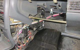 Замена радиатора печки на ваз 2109