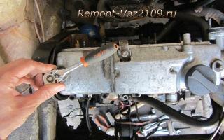 Замена прокладки клапанной крышки ваз 2109