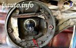 Как поменять задние тормозные колодки на ланосе