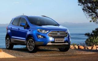 Новый ford ecosport обзавелся полным приводом с «автоматом»