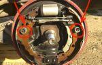 Замена задних тормозных колодок на рено логан