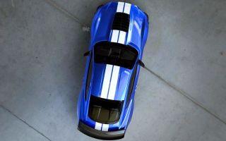 Более внимательный взгляд на наш эксклюзивный ford mustang shelby gt500 cover shot