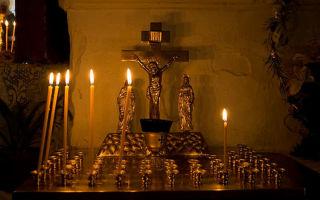 Где ставить свечи в церкви