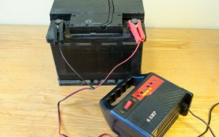 Зарядить аккумулятор в домашних условиях