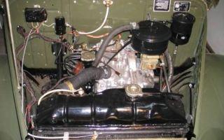 Какой мотор можно поставить на газ 69
