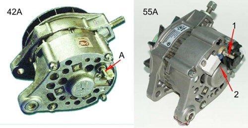 Замена генератора ваз 2106 на ваз 2107 - Автомастер
