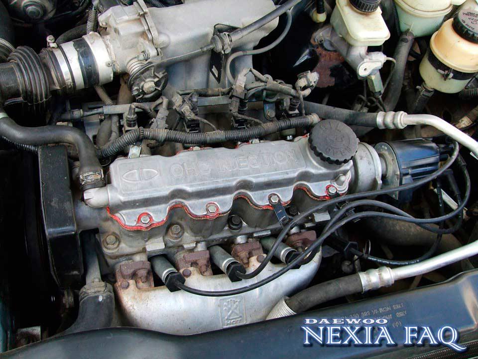 Замена прокладки, гБЦ на нексии - Daewoo Nexia FAQ